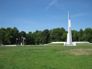 Veteran's Memorial on N. Harrison Avenue
