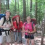 Happy smiles after through-hiking the Uwharrie Trail in 2013!